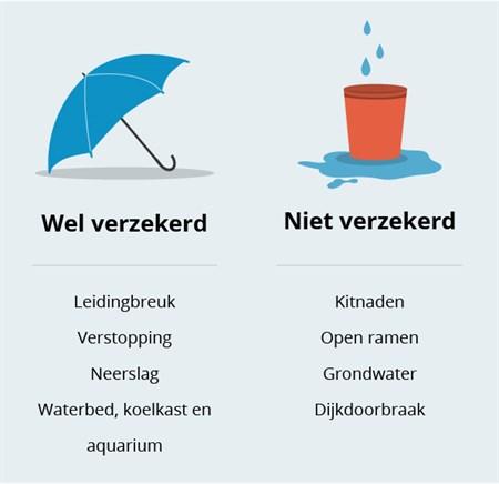 Lekkage! Wat dekt je woonhuisverzekering? | Wegwijs.nl